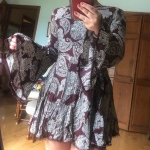 Bell Sleeve Urban Outfitters Dress